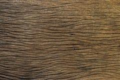 Textura de madeira marrom velha do fundo Foto de Stock Royalty Free