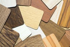 Textura de madeira de muitas amostras Foto de Stock Royalty Free