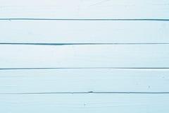 Textura de madeira na luz - azul Imagens de Stock Royalty Free