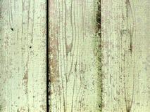 Textura de madeira natural com pintura lascada amarela Fotos de Stock Royalty Free