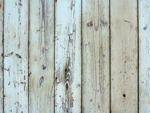 Textura de madeira natural com pintura lascada branca Imagens de Stock Royalty Free