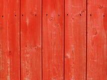 Textura de madeira natural com pintura vermelha Imagens de Stock Royalty Free