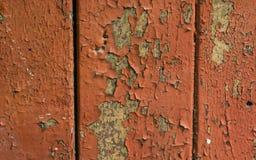 Textura de madeira pintada da prancha fotos de stock