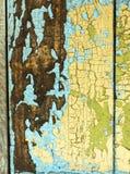 Textura de madeira pintada da prancha imagens de stock