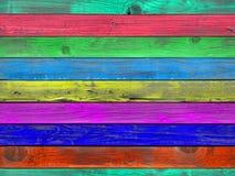Textura de madeira pintada sem emenda da prancha Imagem de Stock Royalty Free