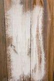 Textura de madeira pintada suja como o fundo Fotografia de Stock Royalty Free