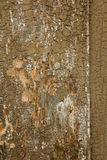 Textura de madeira pintada velha Imagem de Stock