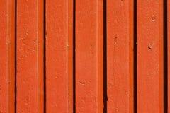 Textura de madeira pintada velha Imagens de Stock