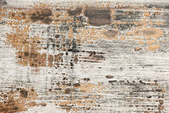Textura de madeira pintada velha Fotografia de Stock Royalty Free