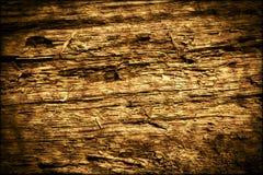 Textura de madeira podre velha escura do fundo Imagens de Stock