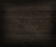 Textura de madeira preta Fotografia de Stock