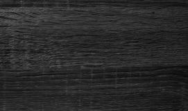 Textura de madeira preta Fotos de Stock