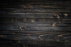 Textura de madeira preta imagens de stock royalty free