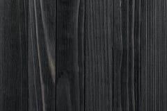 Textura de madeira preta Imagem de Stock