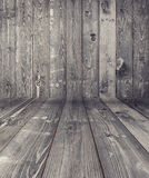 Textura de madeira preta da prancha Imagem de Stock