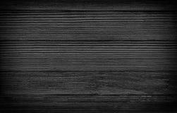 Textura de madeira preta das pranchas para o fundo Fotografia de Stock Royalty Free