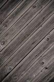 Textura de madeira resistida da porta Fotos de Stock Royalty Free