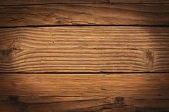 Textura de madeira rica velha da grão Foto de Stock