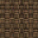 Textura de madeira sem emenda da casca da quadriculação Foto de Stock Royalty Free