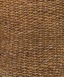 Textura de madeira tecida tradicional da natureza do teste padrão do rattan para o material da mobília Fundo de tecelagem do bamb imagem de stock royalty free