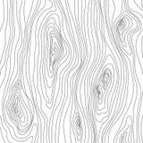 Textura de madeira Teste padrão de madeira da grão E ilustração do vetor