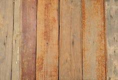 Textura de madeira vívida do assoalho Foto de Stock Royalty Free