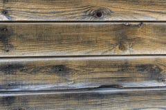 Textura de madeira velha da máscara do amarelo da cerca da parede Foto de Stock Royalty Free