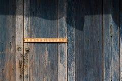 Textura de madeira velha da parede Imagem de Stock Royalty Free