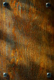 Textura de madeira velha do fundo de Brown da grão Fotos de Stock Royalty Free