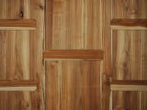 Textura de madeira velha do parquet Imagens de Stock Royalty Free