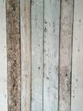 Textura de madeira velha pintada Foto de Stock