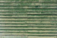 A textura de madeira verde Imagens de Stock Royalty Free