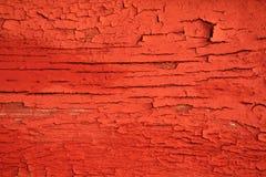 Textura de madeira vermelha Imagens de Stock
