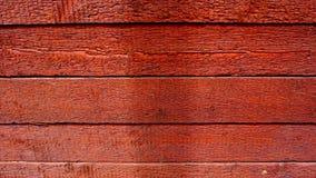 Textura de madeira vermelha Foto de Stock Royalty Free