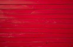 Textura de madeira vermelha Fotos de Stock Royalty Free