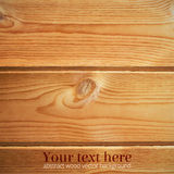 Textura de madeira Vetor Illustartion Foto de Stock