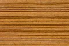 Textura de madeira de Zebrano do africano no macro Fotos de Stock Royalty Free