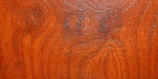 Textura de madera anaranjada Imágenes de archivo libres de regalías