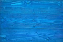 Textura de madera azul fotos de archivo