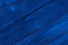 Textura de madera azul, fondo de madera vac?o, superficie agrietada imágenes de archivo libres de regalías