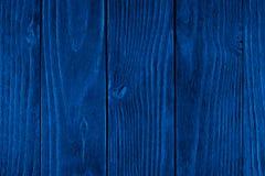 Textura de madera azul, fondo de madera vac?o, superficie agrietada fotografía de archivo