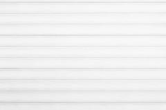 Textura de madera blanca de la pared para el fondo Fotos de archivo libres de regalías