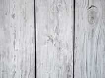 Textura de madera blanca del viejo grunge Foto de archivo libre de regalías