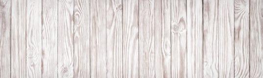 Textura de madera blanca, fondo panorámico ancho del papel pintado imagenes de archivo