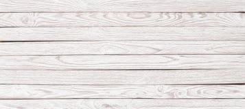 Textura de madera blanca para la disposición, tabla de madera del panorama para el CCB imagen de archivo