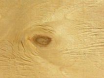 Textura de madera con el nudo Fotografía de archivo libre de regalías