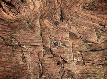 Textura de madera con la incisión fotografía de archivo libre de regalías