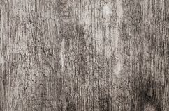 Textura de madera con las grietas Foto de archivo