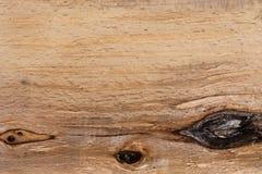 Textura de madera con los nudos Concepto natural del fondo del modelo Fotografía de archivo libre de regalías
