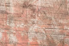 Textura de madera con los rasguños y las grietas Foto de archivo